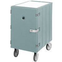 Cambro 1826LTCSP401 Camcart Slate Blue Mobile Cart for 18 inch x 26 inch Sheet Pans and Trays with Security Package