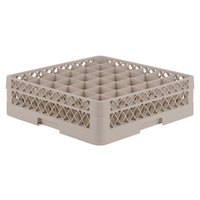 Vollrath TR7C Traex® Full-Size Beige 36-Compartment 4 13/16 inch Glass Rack