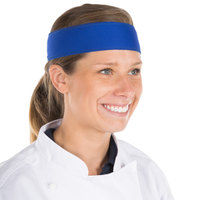 Royal Blue High-Performance Fabric Headband