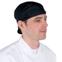 Headsweats 8807-802 Black Shorty Chef Cap