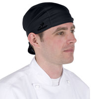 Black Headsweats 8807-802 Shorty Chef Cap