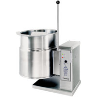 Cleveland KET-12-T 12 Gallon Tilting 2/3 Steam Jacketed Electric Tabletop Kettle - 208/240V