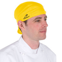 Yellow Headsweats Customizable Shorty Chef Cap