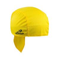 Yellow Headsweats Customizable 8807-805 Shorty Chef Cap