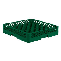 Vollrath TR7 Traex® Full-Size Green 36-Compartment 3 1/4 inch Glass Rack