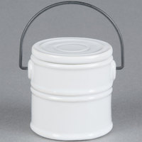 American Metalcraft MCC25 5.5 oz. Mini Ceramic Pail Sauce Cup - 6/Case
