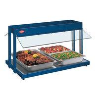 Hatco GRBW-48 48 inch Glo-Ray Navy Blue Buffet Warmer with Infinite Controls - 2040W