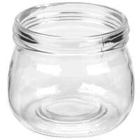 American Metalcraft MJ16 16 oz. Condiment Mason Jar - 6 / Pack