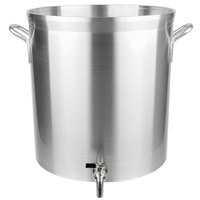 Vollrath 68661 Wear-Ever Classic Select 60 Qt. Heavy Duty Aluminum Stock Pot with Faucet