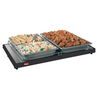 Hatco GRS-18-A 18 inch x 6 inch Glo-Ray Black Portable Heated Shelf Warmer - 100W