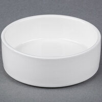 American Metalcraft PJ6 6 oz. Porcelain Condiment Jar - 6/Pack