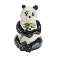 Town 51092 7.5 oz. Panda Ceramic Cup - 12/Case