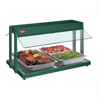 Hatco GRBW-54 54 inch Glo-Ray Green Buffet Warmer with Infinite Controls - 2290W