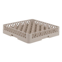 Vollrath TR7 Traex® Full-Size Beige 36-Compartment 3 1/4 inch Glass Rack