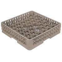 Vollrath TR13MM Traex Rack Max Full-Size Beige 42-Compartment 3 9/16 inch Glass Rack
