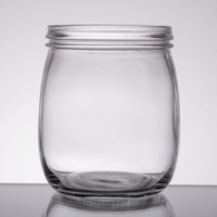 American Metalcraft MJ22 25 oz. Condiment Mason Jar   - 6/Pack