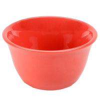 7 oz. Orange Smooth Melamine Bouillon Cup - 12/Case