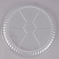 Choice 7 inch Plastic Dome Lid - 500/Case