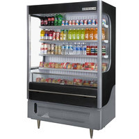 Beverage Air VueMax VM15 Black 51 inch Air Curtain Merchandiser - 15 cu. ft.