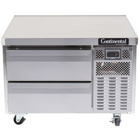 Continental Refrigerator DL36G 36 inch Two Drawer Refrigerated Chef Base