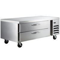 Beverage-Air WTRCS60-1 60 inch Two Drawer Refrigerated Chef Base - 11.1 cu. ft.