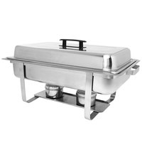 8 Qt. Stainless Steel Economy Chafer
