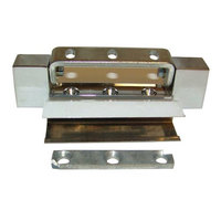 Component Hardware R42-2842 Equivalent 5 inch x 13/16 inch Door Hinge with 25/32 inch Offset