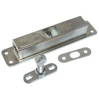 Kason 10535L00004 5 7/8 inch Roller Grip Door Latch with Strike