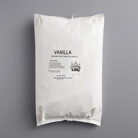 Carnival King 6 lb. Non-Dairy Vanilla Soft Serve Ice Cream Mix   - 6/Case