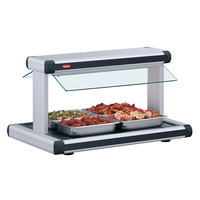 Hatco GR2BW-24 24 inch Glo-Ray White Granite Designer Buffet Warmer with Black Insets - 970W