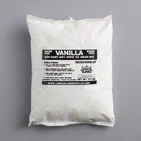 Carnival King Non-Dairy and Sugar Free Vanilla Soft Serve Ice Cream Mix 3.4 lb. Bag   - 4/Case