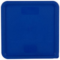 Carlisle 1074260 StorPlus Royal Blue Polyethylene Lid for 12, 18, and 22 Qt. Square StorPlus Containers