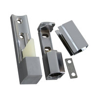 Component Hardware R45-1010 Equivalent 4 5/16 inch x 1 1/8 inch Edge Mount Door Hinge with 7/8 inch Offset
