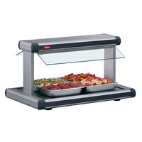 Hatco GR2BW-54 54 inch Glo-Ray Gray Granite Designer Buffet Warmer with Black Insets - 120/240V, 2290W