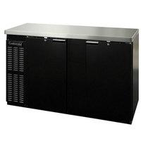 Continental Refrigerator BBC69 69 inch Solid Door Back Bar Refrigerator