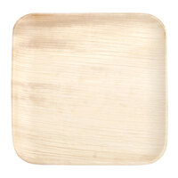 Eco-gecko 25068 6 inch Sustainable Square Palm Leaf Plate - 25 / Pack