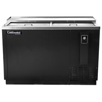 Continental Refrigerator CBC50 50 inch Black Horizontal Bottle Cooler