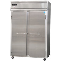 Continental Refrigerator 2FS 52 inch Solid Door Shallow Depth Reach-In Freezer