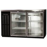 Continental Refrigerator BBC50-GD 50 inch Glass Door Back Bar Refrigerator