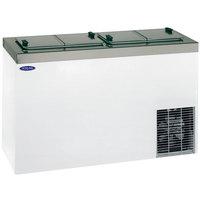 Nor-Lake FF104WVS/0 Nova 54 inch Flip Lid Ice Cream Dipping Cabinet