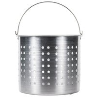60 Qt. Aluminum Stock Pot Steamer Basket