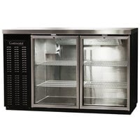 Continental Refrigerator BBC59-GD 59 inch Glass Door Back Bar Refrigerator