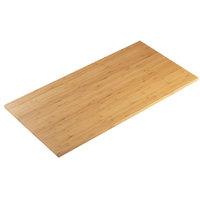 Cal-Mil 1435-1248-60 Bamboo 12 inch x 48 inch Rectangular Riser Shelf