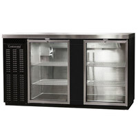 Continental Refrigerator BBC69-GD 69 inch Glass Door Back Bar Refrigerator