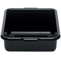 Cambro 21155CBR110 Cambox 21 inch x 15 inch x 5 inch Black Plastic Regal Bus Box