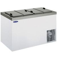 Nor-Lake FF154WVS/0 Nova 54 inch Flip Lid Ice Cream Dipping Cabinet
