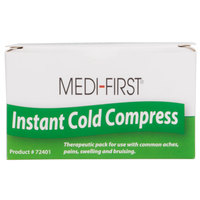 Medique 72401 Medi-First 4 inch x 6 inch Instant Ice Pack / Cold Compress