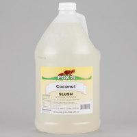 Fox's 1 Gallon Coconut Slush Syrup