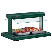 Hatco GR2BW-42 42 inch Glo-Ray Green Designer Buffet Warmer with Green Insets - 120V, 1790W