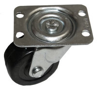 Hatco R04.17.180.00 Equivalent 2 inch Swivel Plate Caster - 125 lb. Capacity